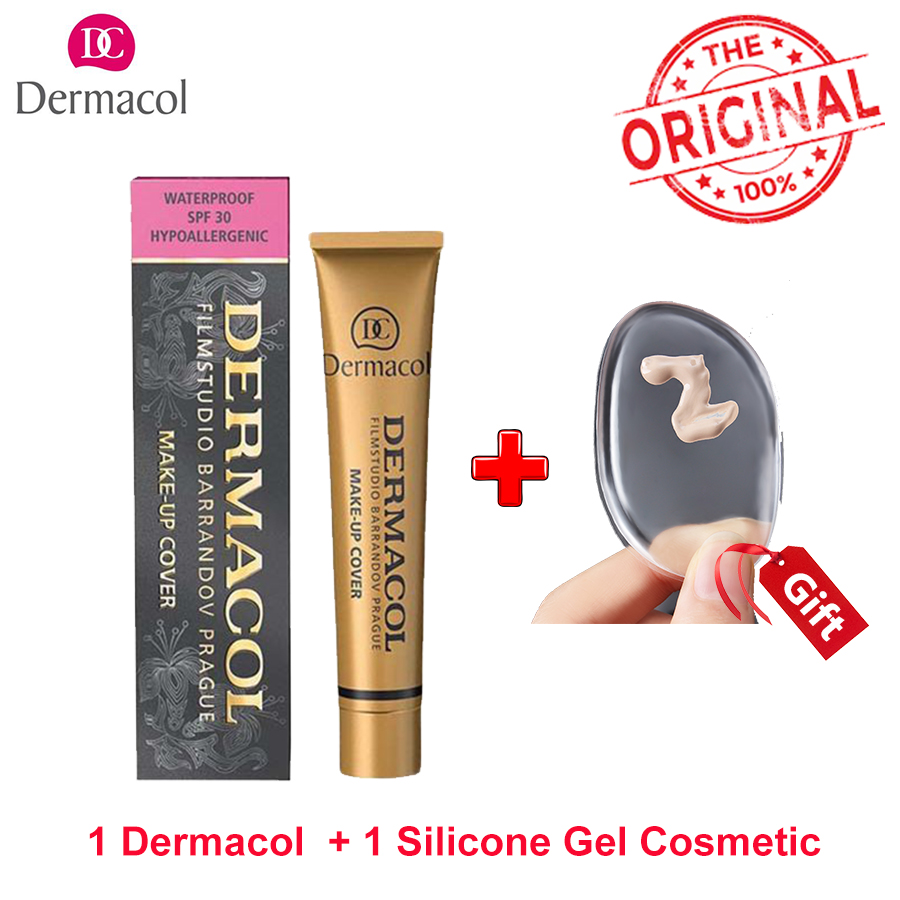 Dermacol Base primer corrector concealer cream makeup base tatoo concealer face foundation contour palette 30g free shipping makeup base color corrector contour cream concealer palette