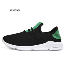 5c64f2a0a Koovan الرجال رياضية 2018 جديد صافي الأحذية تنفس أحذية الرجال عارضة الأحذية  صغيرة الأبيض شبكة الرياضة