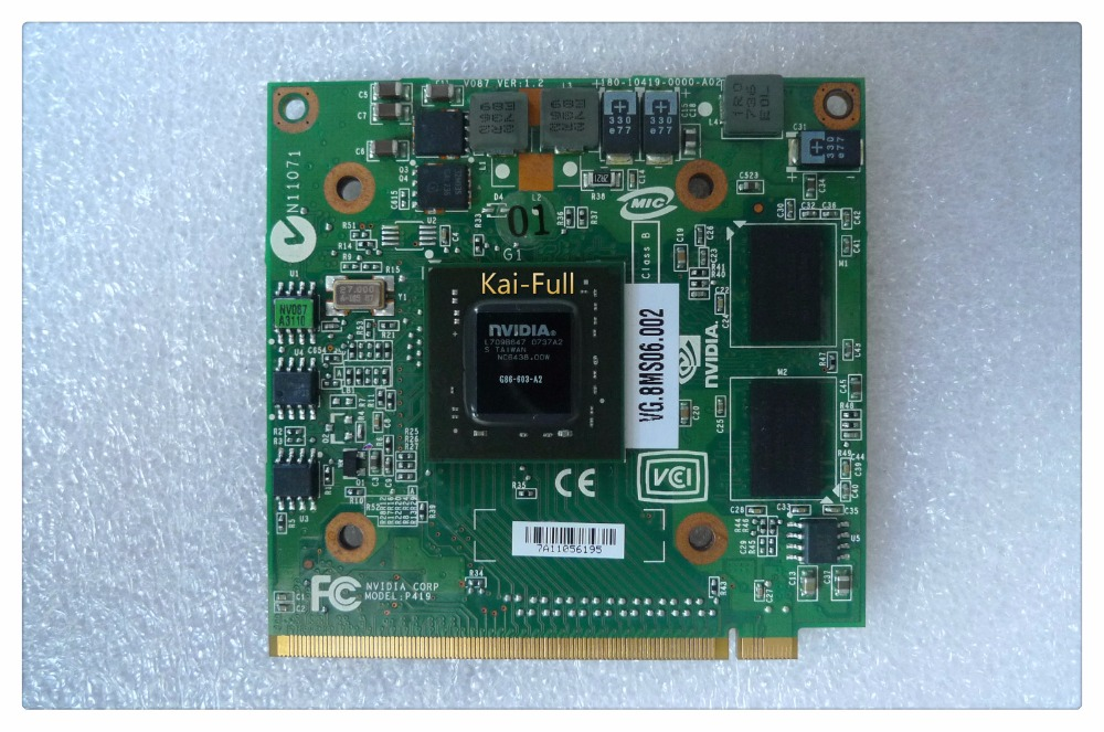 For NVidi A GeForce 8400M GS MXM IDDR2 128MB Graphics Video Card For Acer Aspire 5920G 5520 5520G 4520 7520G 7520 7720 G Laptop