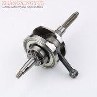Scooter high quality crankshaft for YAMAHA BWS125 ZUMA125 YW125 X OVER 125 5S9 E1400 00 Taiwan quality