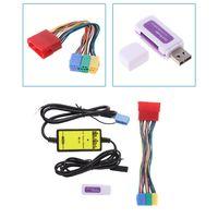 רכב MP3 נגן רדיו ממשק CD מחליף USB SD AUX ב לאאודי A2 A4 A6 S6 A8 S8 רכב אבזרים|מקלט טלוויזיה עבור הרכב|   -