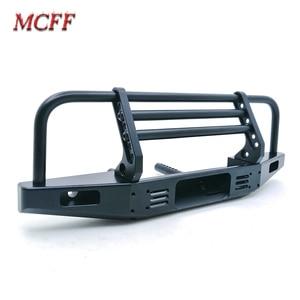 Image 4 - Universal Metal Front Anti collision Bumper For 1/10 RC Crawler TRX4 Defender Bronco Axial Scx10 90046 90047