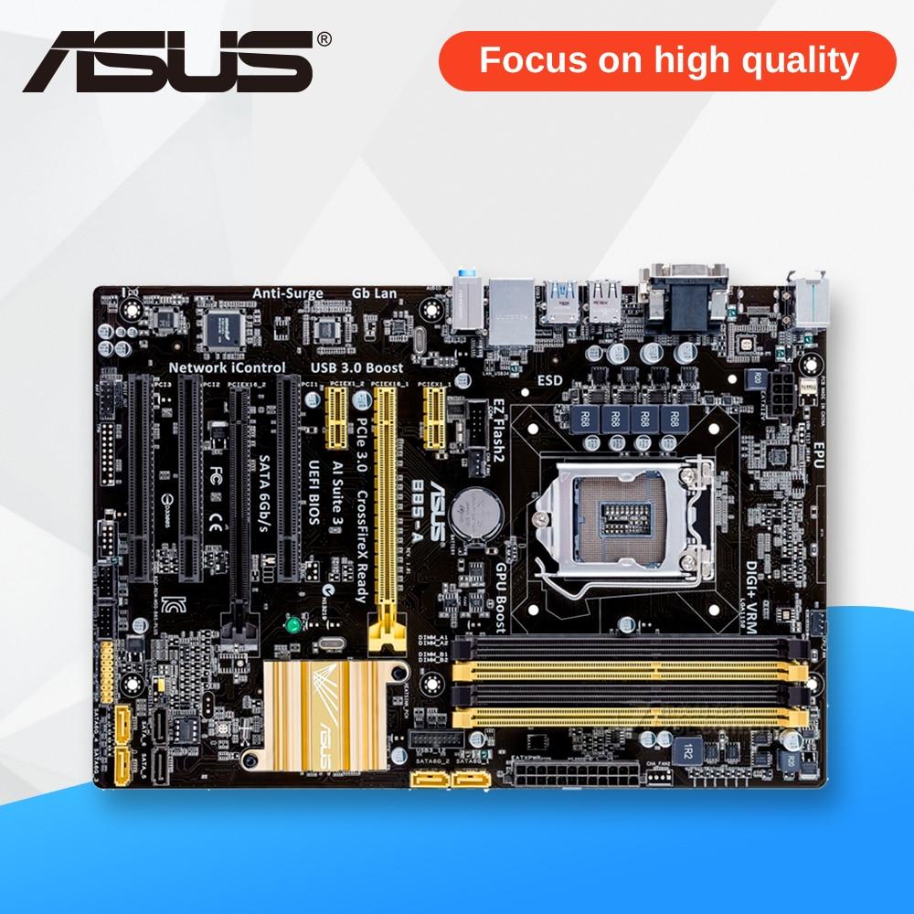 Asus B85-A Desktop Motherboard B85 Socket LGA 1150 i7 i5 i3 DDR3 32G SATA3 USB3.0 ATX