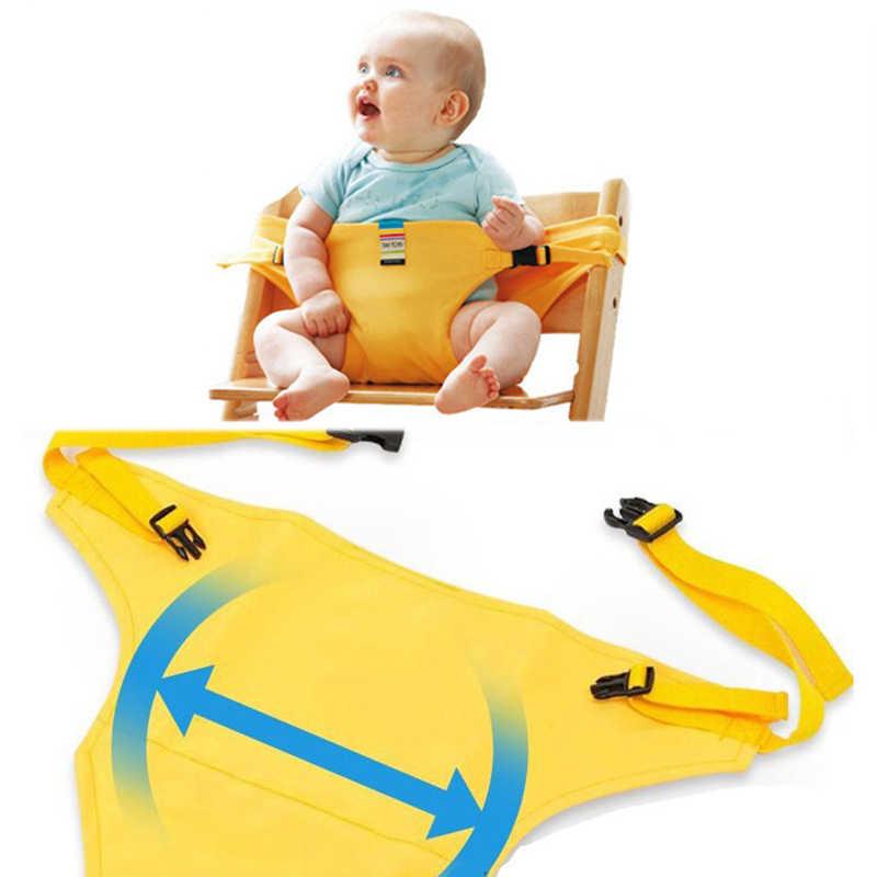 Портативный стул для младенцев обеденный Ланч ремень безопасности стрейч обертывание кормления стул жгут детское сиденье для кормления подарок