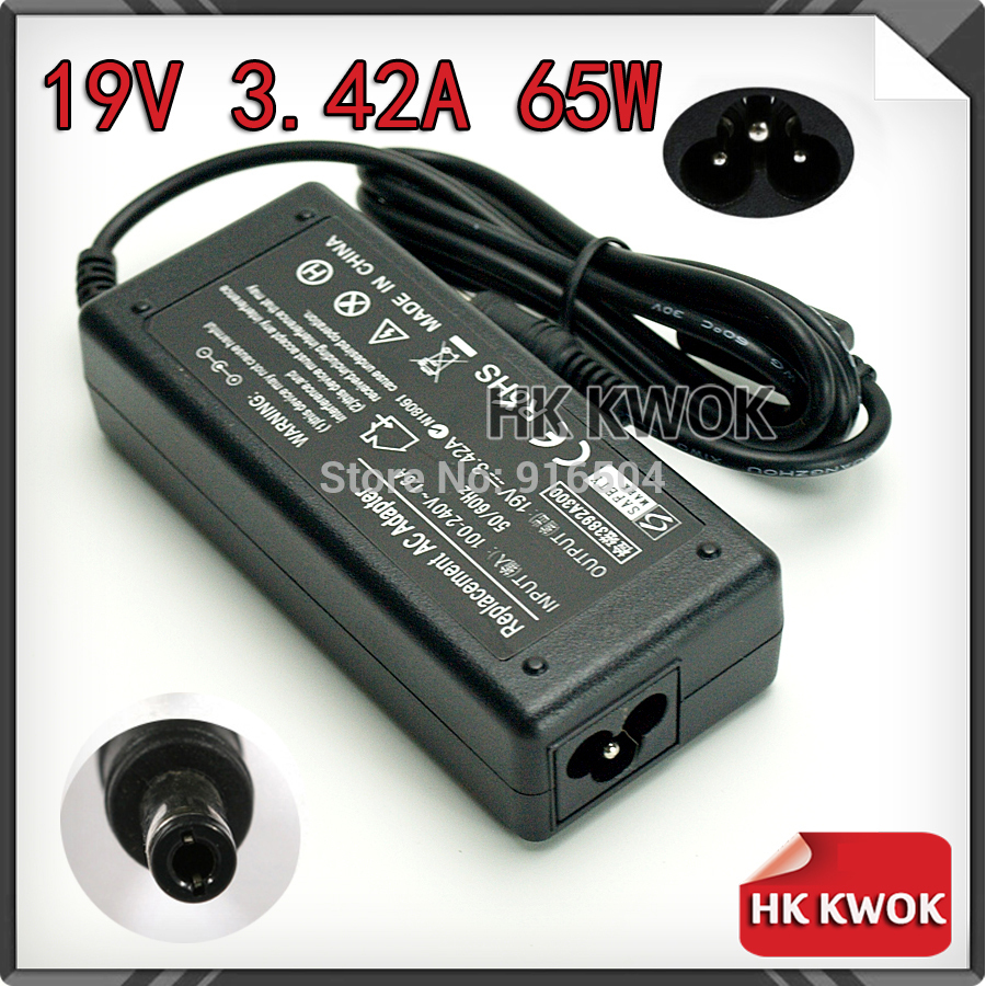 19V 3.42A 5.5mm*2.5mm AC Adapter Charger Laptop For toshiba PA3467U-1ACA A100 A105 A200 L20 M 105 U305 Notebook Power Supply
