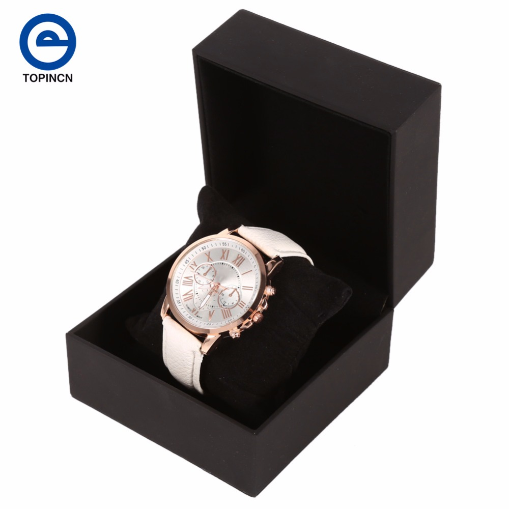 Luxury Jewelries Box Leatherette Watch Box Trendy Jewelry Box Present Gift  Boxes Wholesale 2017 New Arrival