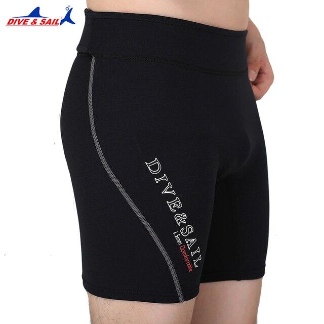 4c4de61e13 DIVE SAIL 1.5MM Neoprene Diving Shorts Wetsuit Short Pants For Men Or Women  Winter Swimming Rowing Sailing Surfing Warm