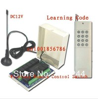 Free Shipping 3000M 12V 12CH Channel Relay Receiver Transmitter For Rf Wireless Remote Control Switch System