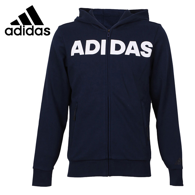Original New Arrival 2018 Adidas JKT LNG HD Men's jacket Hooded Sportswear original new arrival official adidas tan lt wov jkt men s jacket hooded sportswear bq6894