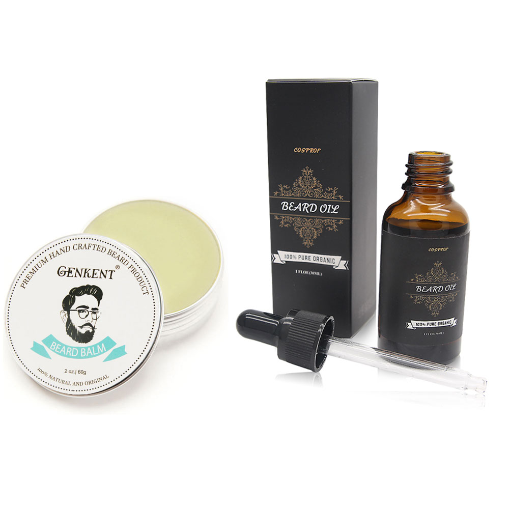 100 Natural font b Beard b font Balm Moustache Cream font b Beard b font font
