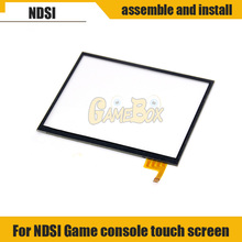 цена на Touch screen panel display digitizer glass For Nintend DSi Touch Screen Display Digitizer Replacement