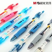 24 шт./компл. M & G гелевая ручка GP1008 красные, синие, черные чернила 0,5 мм японский качественный школьный офис студенческий еггинсы канцелярские принадлежности