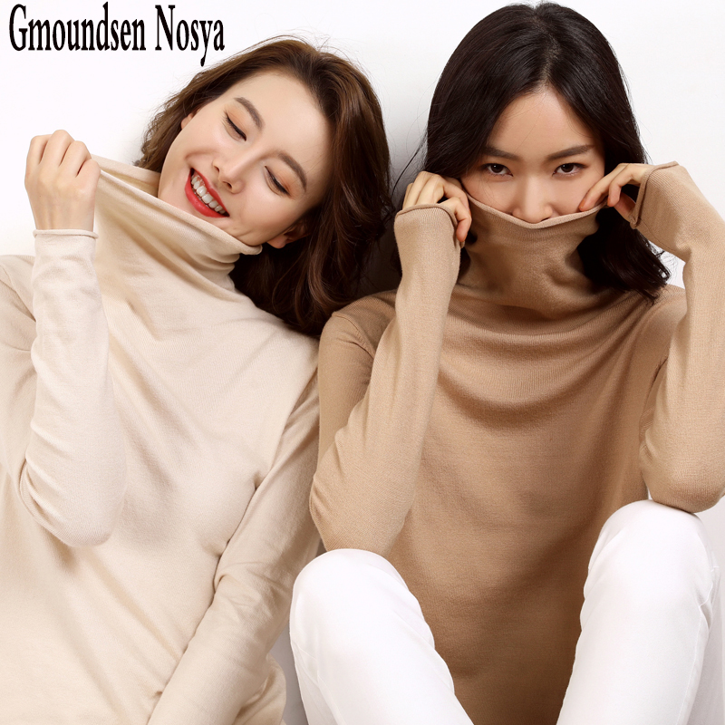 New Sweater Women Turtleneck Pullover Knitting Cashmere Sweater Winter Clothes Women Sweaters Pullover Women Large Size Sweater