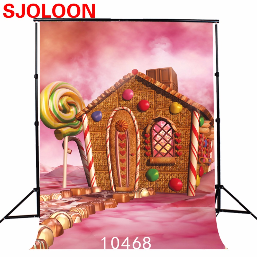 150x210cm Children candy house photography backdrops Fond studio photo vinyl achtergronden voor fotostudio Photo background sjoloon brick wall photo background photography backdrops fond children photo vinyl achtergronden voor photo studio props 8x8ft