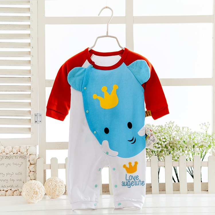 Newborn Baby girls Clothes new Cartoon Baby Rompers winter Long Sleeve Baby Boys Clothing cotton Baby  Jumpsuits Roupas Bebes 2016 new newborn baby boys girls clothes rompers cotton tracksuit boys girls jumpsuit bebes infant long sleeve clothing overalls