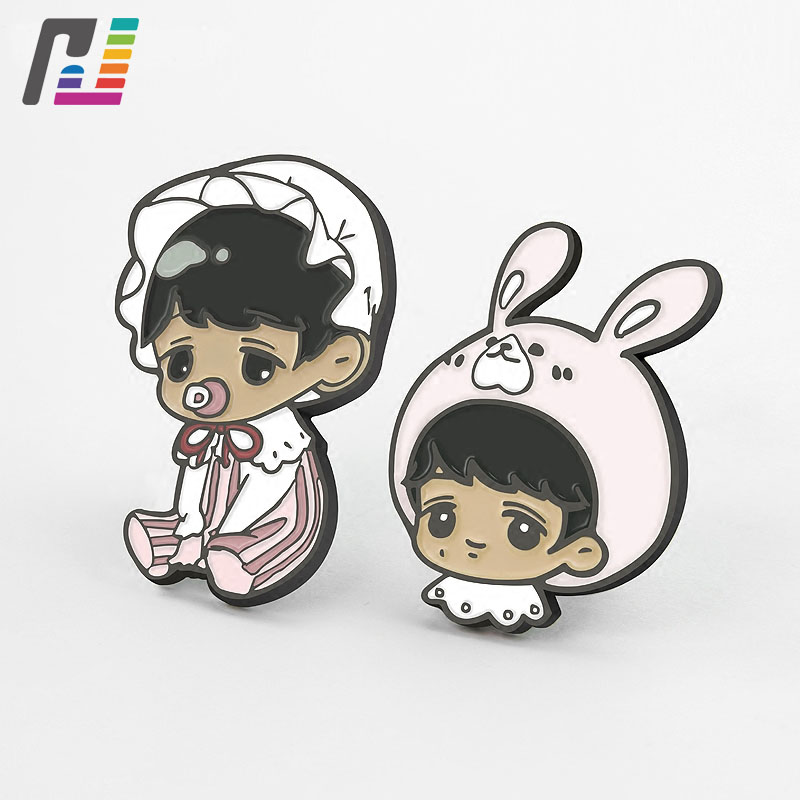 3d Cute Baby Girl Brooch Rabbit Girls Pins Brooches Custom Cartoon Characters Lapel Pin With Metal Buy at Least 50PCS веб камера a4tech pk 836f