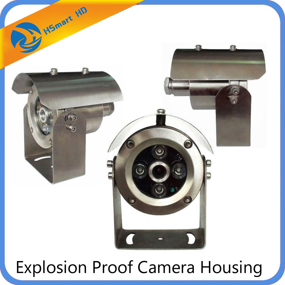MINI CCTV Camera Housing Explosion Proof Housing Vandal Proof Box add IR LED CCTV Outdoor Security