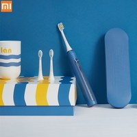 Xiaomi Soocare Soocas X5 Ultrasonic Sonic Electric Toothbrush USB Rechargeable Auto Tooth Brush waterproof with 3 Brush Heads