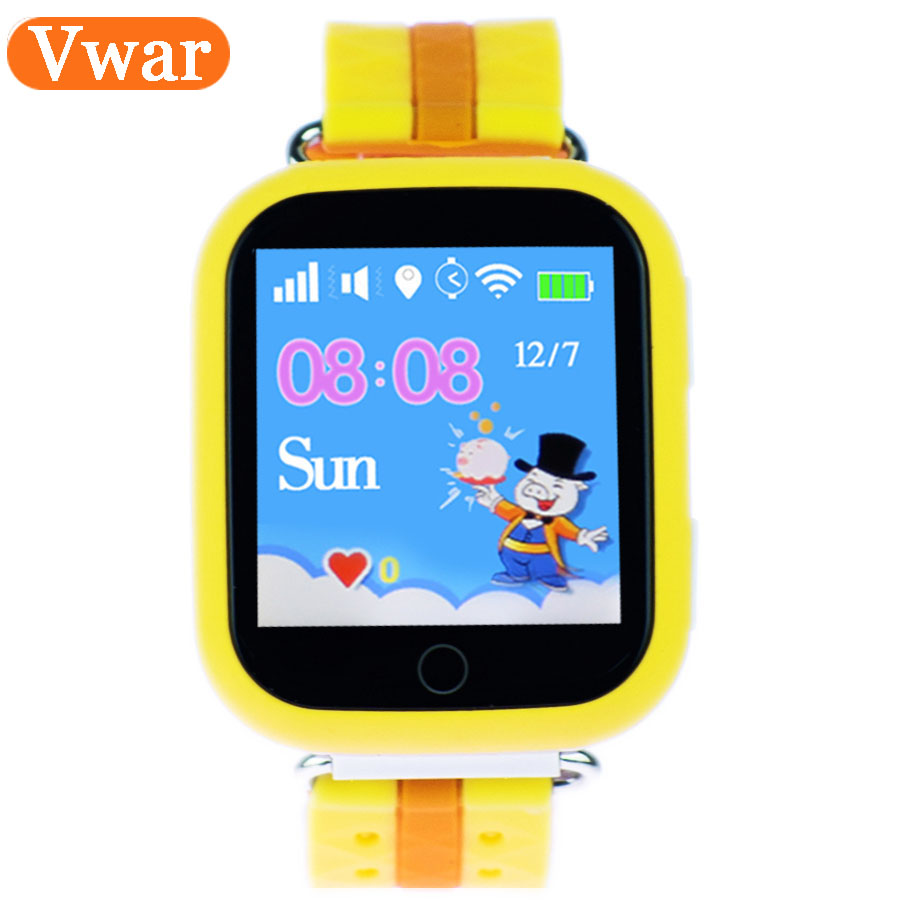 Vwar GW200S Q100 Baby GPS Watch with Wifi Positioning 1 54 Inch Color Touch Screen SOS