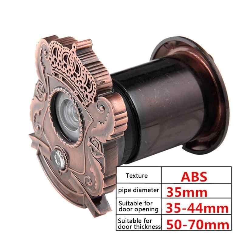 35 мм высококачественный дверной звонок 2 в 1 кошачий глаз с дверным звонком 220 градусов глазок с широким углом обзора двери Регулируемый просмотр
