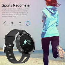 Водонепроницаемый Шагомер Bluetooth Smart Браслет браслет Anti-Потерянный часы Шагомер Smart Watch bluetooth шагомер