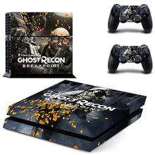 Tom Clancy's Ghost Recon: Breakpoint PS4 Skin Sticker Decal For Sony PlayStation 4 Console and 2 Controllers PS4 Skin Sticker