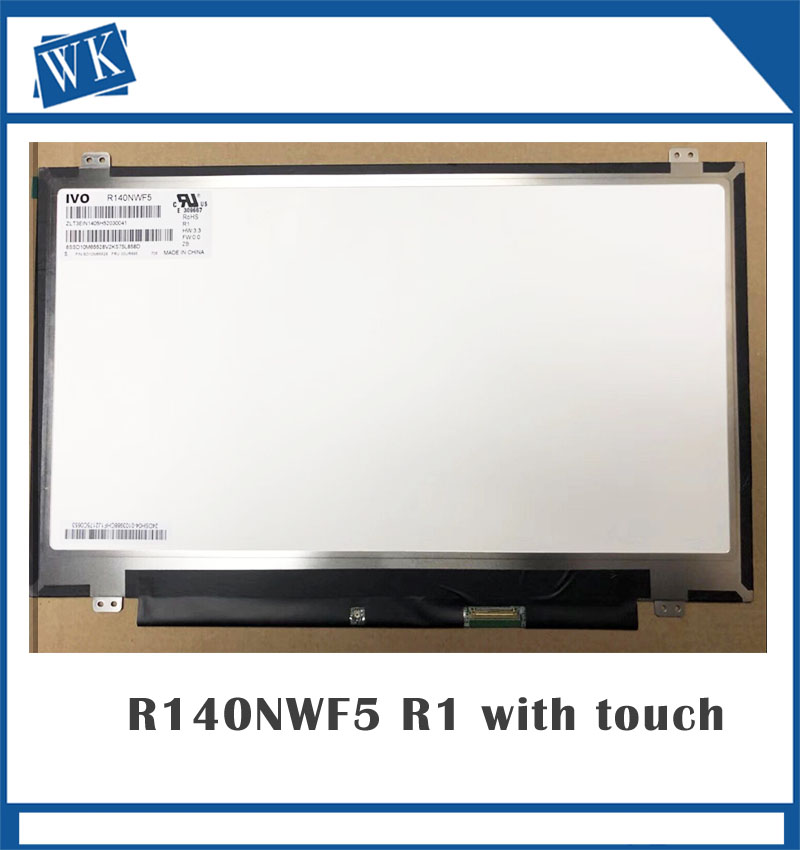 R140NWF5 IVO LCD LED Display with Touch Screen Digitizer Assembly for Lenovo Fru 00NY421 PN : SD10K93460 14.0 FHD R140NWF5 R1R140NWF5 IVO LCD LED Display with Touch Screen Digitizer Assembly for Lenovo Fru 00NY421 PN : SD10K93460 14.0 FHD R140NWF5 R1