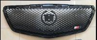 1PC ALL BLACK HEAVY MESH GRILLE GRILL for CADILLAC ATS 2014 2015