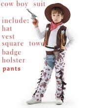 Cosplay disfraz para niños niñas niños niño de Año Nuevo vestido de traje  de vaquero traje de los niños de fiesta Halloween traj. 6912a25819c