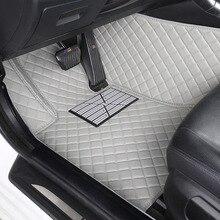 Alfombrillas personalizadas para coche, estilo 3D, para BMW F10, F11, F15, F16, F20, F25, F30, F34, E60, E70, E90, 1, 3, 4, 5, 7 Series GT X1, X3, X4, X5, X6, Z4