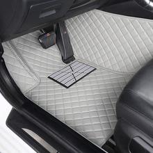 Custom car fußmatten für BMW F10 F11 F15 F16 F20 F25 F30 F34 E60 E70 E90 1 3 4 5 7 serie GT X1 X3 X4 X5 X6 Z4 3D auto styling