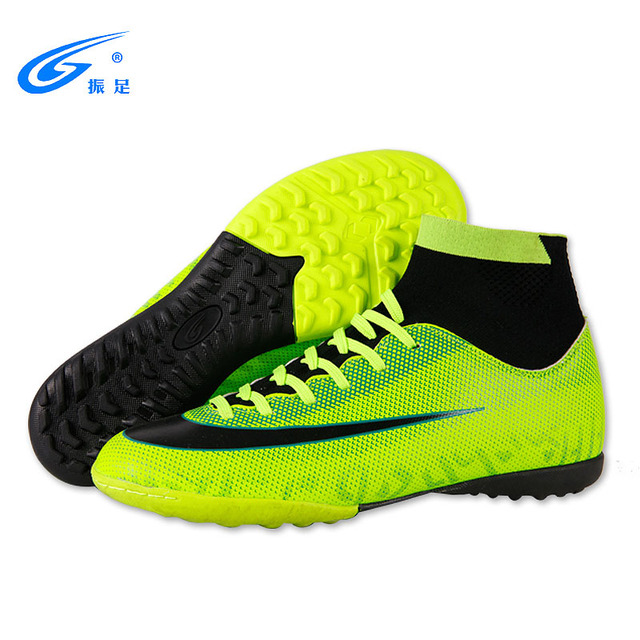 8a5983a63 Купить Кроссовки   Turf Indoor High Top Adult Rubber sole Soccer ...