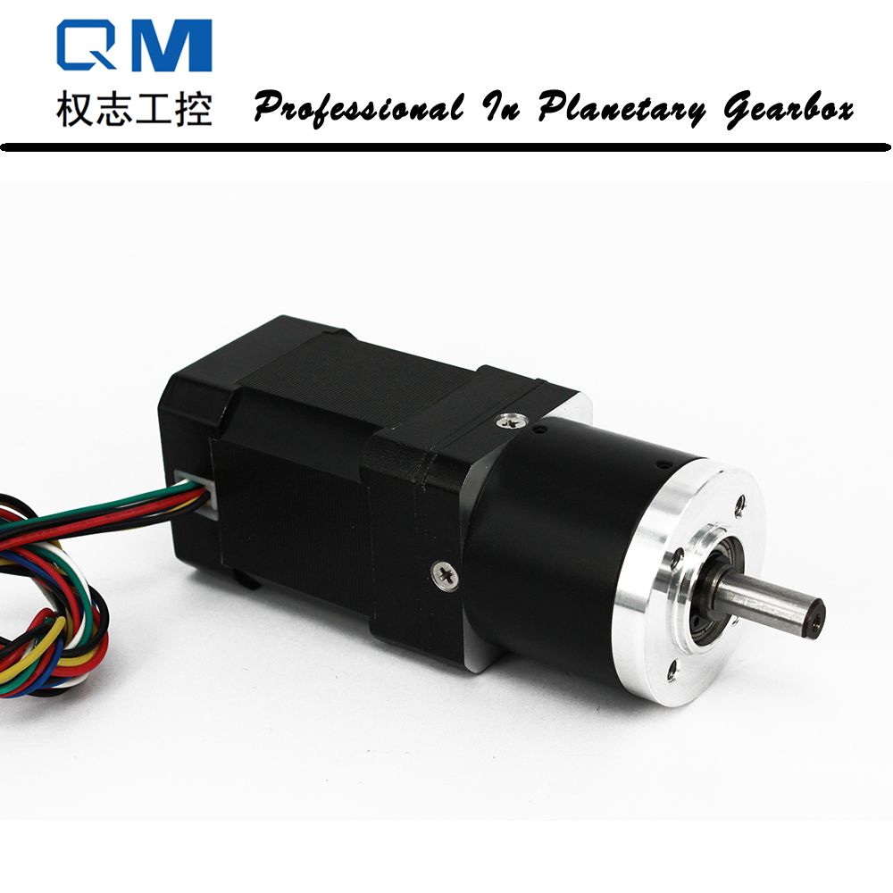Geared motor nema 17 60W gear brushless dc motor 24V with planetary reduction gearbox ratio 40:1 24v 52 5w 5 8 n m 70rpm 42mm brushless dc motor square brushless dc motor with planetary gearbox reduction ratio 56 5