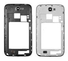 Wholesale Original Middle Frame Housing For Samsung Galaxy Note 2 N7100 Brand New White Grey Bezel Frame Free Shipping 5pcs/lot