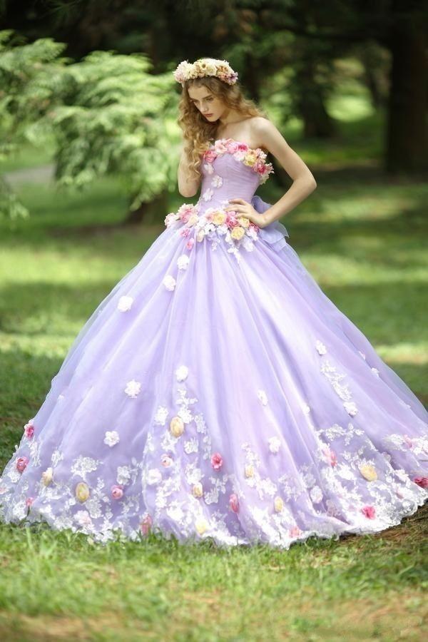 Vestidos Flores Anos