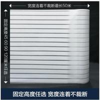 Transparent Opacity Glass Sticker No Gel Electrostatic Matte Stripes Office Glass Foil Bathroom Balcony Windows 28