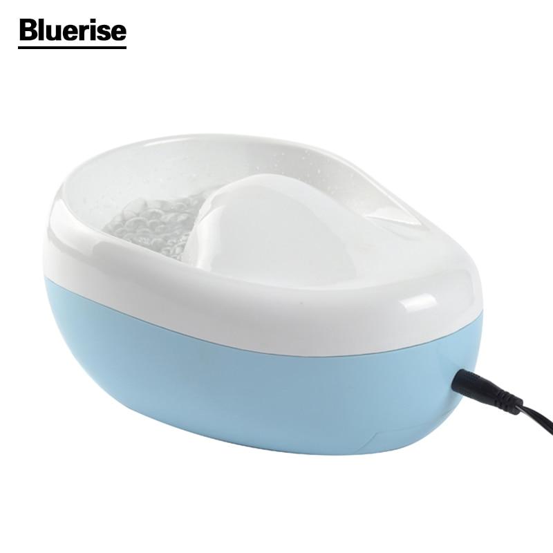BlUERISE Nail Bubble Massage Jet Spa Hand Bowl Spa Manicure Soak Soaker Bowl Nail Polish Remover Dead Skin cuticles Softening in garden жидкость nail polish remover 100 мл