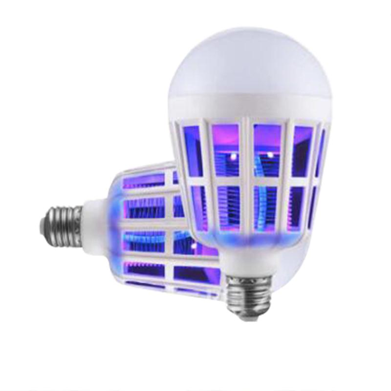 Luminaria Light Lamp 2in1 Multifunction LED Lamp Anti-Mosquito Insect Fly Lure Kill Bulb Light Lamp Home socket electric mini mosquito lamp led insect mosquito repeller killing fly bug insect night housefly freeshipping