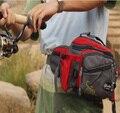 2016 Mary Louise Señuelo multifuncional Bolsa senderismo Lienzo De gran capacidad paquete de la cintura A Prueba de agua bolsa de correa de la correa de pesca bolsas