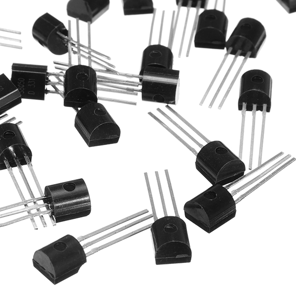 100Pcs/Set S8050 TO-92 NPN Power Transistor Switch Transistors Electronic Components And Supplies Pack 25V 0.5A