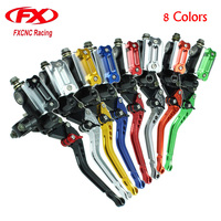 FX CNC Master Cylinder Reservoir Hydraulic Brake Cable Clutch Levers For YAMAHA 125 300CC Motorcycle Brake