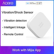 Originele Mijia Aqara Trillingen/Shock Sensor Ingebouwde Gyro Motion Sensor, Voor Mijia Mihome App, Internationale Editie