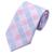 2016 Nova Mantas Cheques Laços Dos Homens Define Luz Azul Rosa Saco Laços Para Homens gravata Lenço Abotoaduras com Caixa Branca B-1198