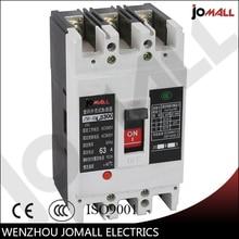 63 Amp 3 pole cm1 type Moulded case circuit breaker mccb