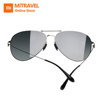 Xiaomi Sunglasses Pro Oval Classic Nylon Polarized UV Resistant Gradient Lens 1mm Superfine Glasses Lightweight Man And Woman original xiaomi mijia turok steinhardt ts nylon polarized stainless sunglasses colorful retro 100% uv proof for travel man woman