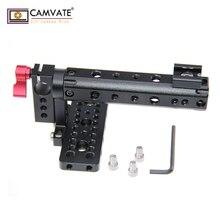 CAMVATE Üst Plaka Kolu Kavrama için BlackMagic Kamera BMCC Sinema Kamera Kolu C1097 kamera fotoğraf aksesuarları