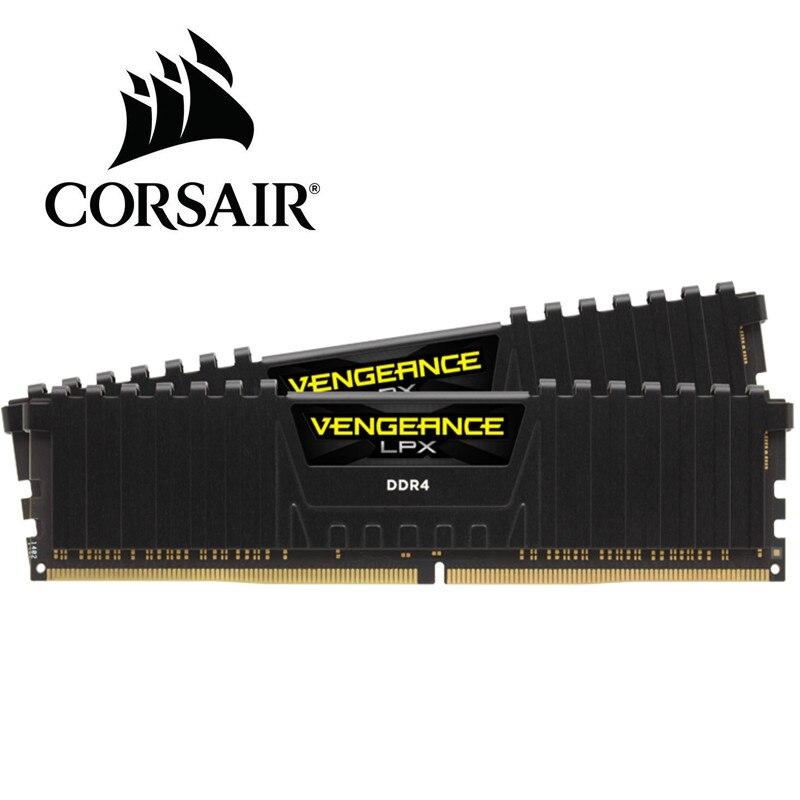 CORSAIR Vengeance LPX 8 GB 16 GB DDR4 PC4 2400 Mhz 3000 Mhz 3200 Mhz Module 2400 3000 ordinateur pc ram de bureau mémoire 16 GB 32 GB DIMM