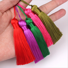 Chinese Decorative Knots 30 pcs Silk Thread Tassel Pendants New Year Gifts National Wind Hanging Drop Craft