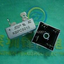 10 шт. 50A 1000V металлический чехол-диодный мост выпрямителя KBPC5010 KBPC3510
