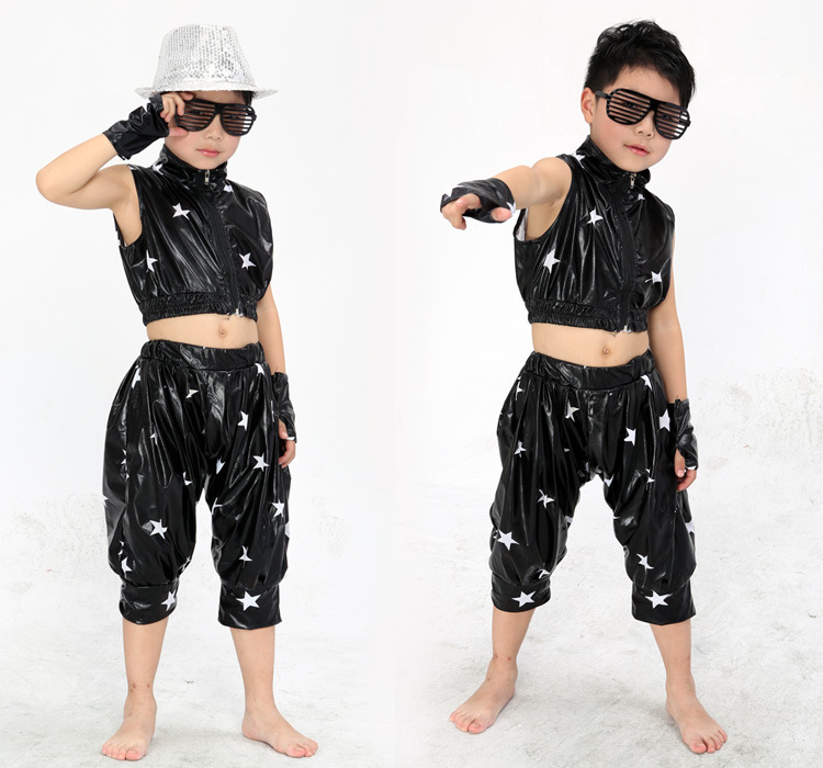 60f0256a3cd60 US $19.72  Retails!! Free Shipping New 2015 Unisex Kids Clothing Set Hip  Hop Performance Clothing Short Pants Jazz Dance Costumes-in Ballroom from  ...